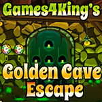Game4King Golden Cave Escape Walkthrough