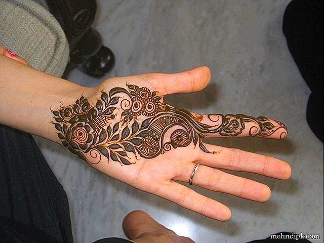 Simple Mehndi Designs Simple Mehndi Designs Palms Nail Art Designs