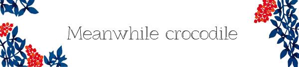 Meanwhile crocodile