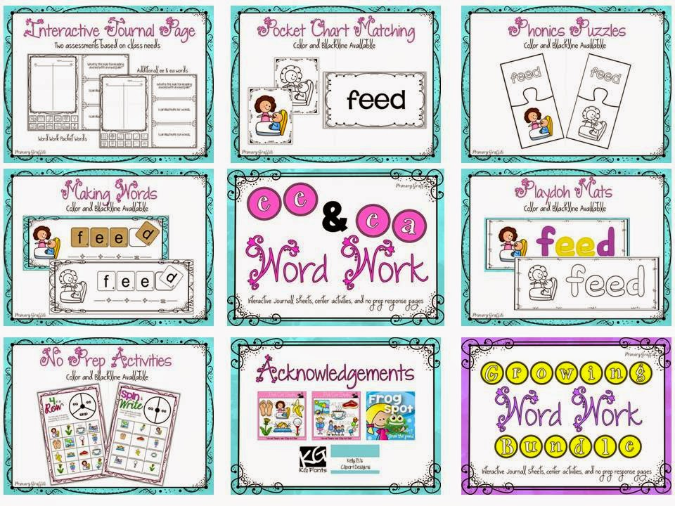 https://www.teacherspayteachers.com/Product/Phonics-Word-Work-ee-ea-1198383
