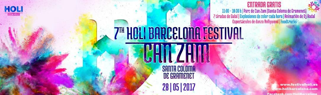 Holi en Barcelona