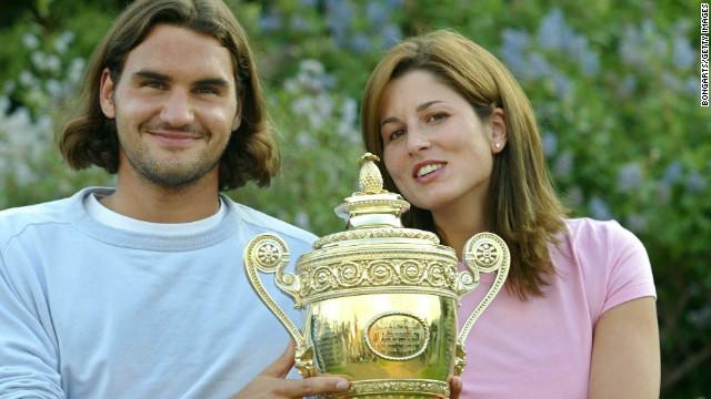 new sports stars roger federer wife mirka vavrinec