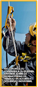 Trabajos seguro en altura no corras riesgos, ni tu ni tu compañia