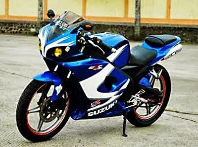 Foto Modifikasi Motor Suzuki Thunder Sporty Terbaru