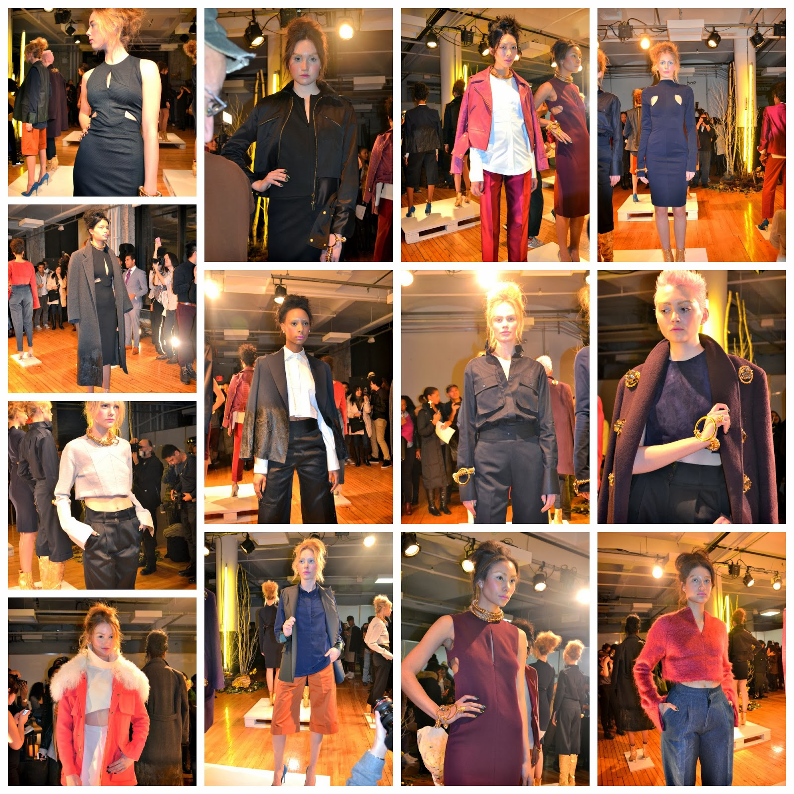 Collage of 5:31 Jérôme NYFW