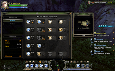 Dragon Nest - Academic Skill Tree