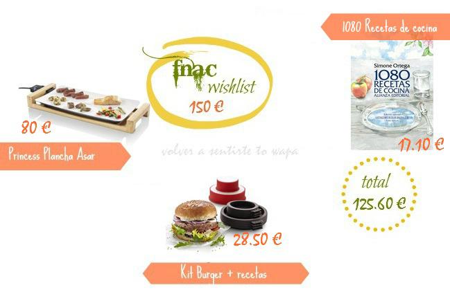 Wishlist Fnac 2.015 € - Volver a Sentirte to Wapa
