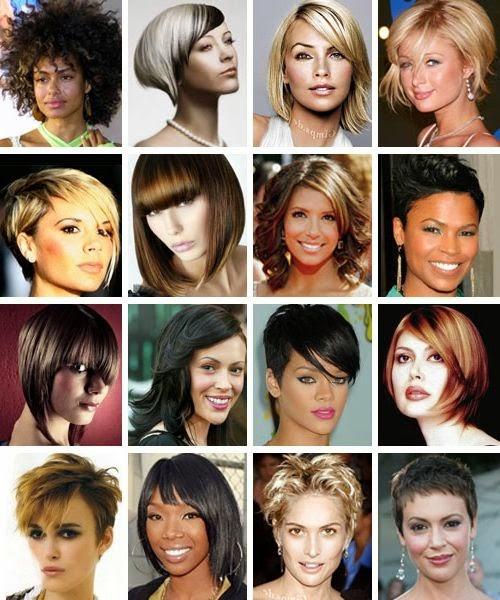 Крупные черты лица причёски