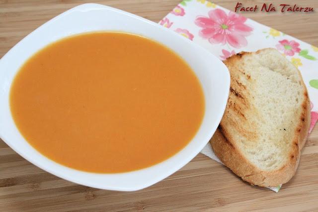 zupa marchewkowa z miodem i imbirem
