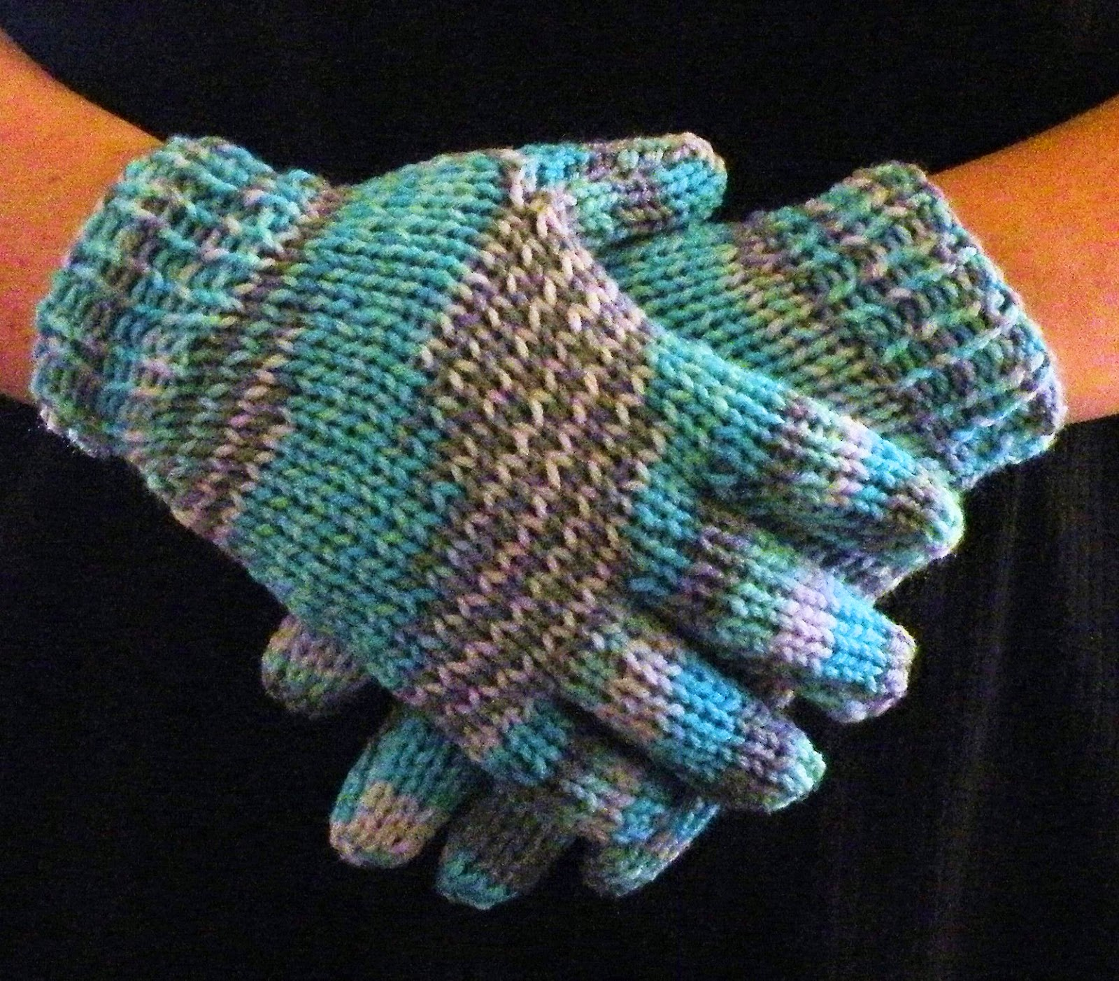 The Loom Muse How To Loom Knit Gloves Round Loom