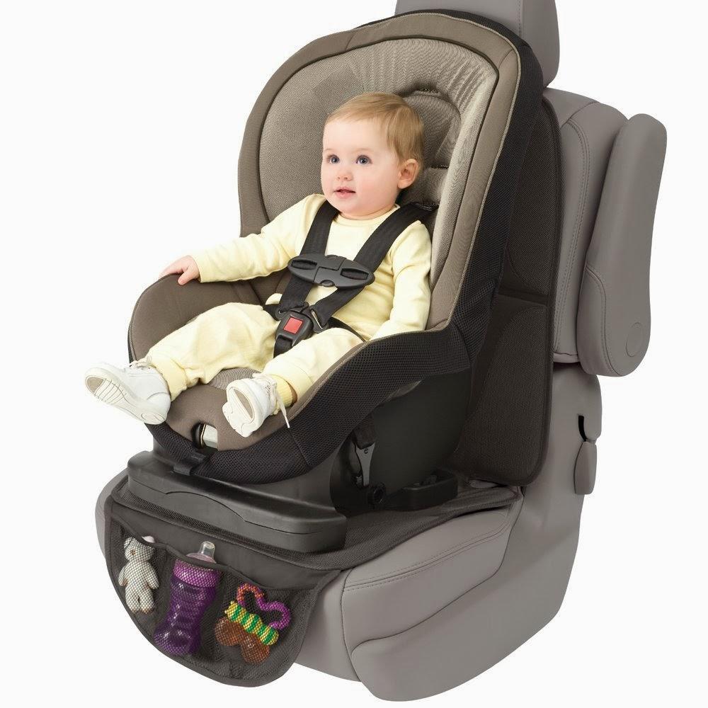 Prote o para o banco do carro com o beb conforto Espejo para carro bebe