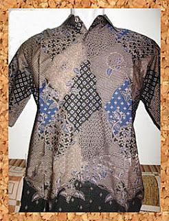 Model Busana Kemeja Batik Modern Pria