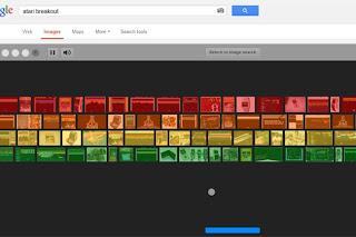 Atari Breakout on Google