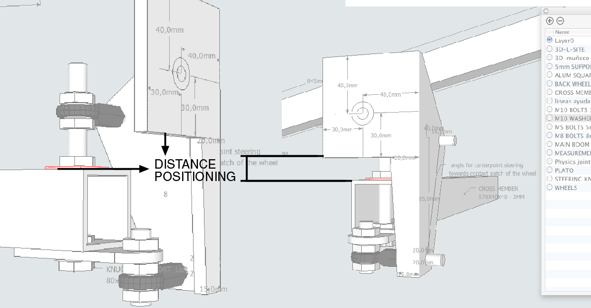 Tribolt Recumbent Trike CAD drawings txusic