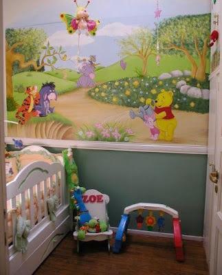 Decoraciones y hogar decora con modernos murales infantiles for Decoracion hogares infantiles