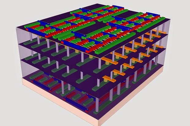 Nanotech 'High-Rise' 3D Chips Developed by Researchers