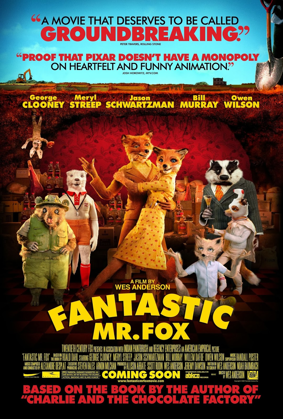 fantastic mr fox Find great deals on ebay for fantastic mr fox and fantastic mr fox book shop with confidence.