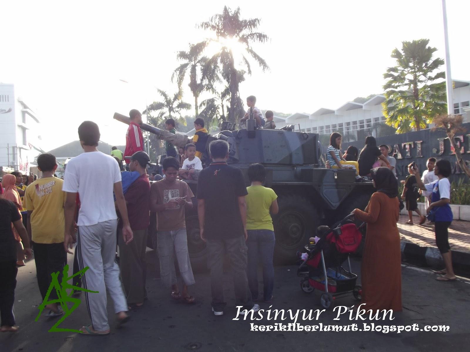 Pameran Alutsista dan Car Free Day di Jember