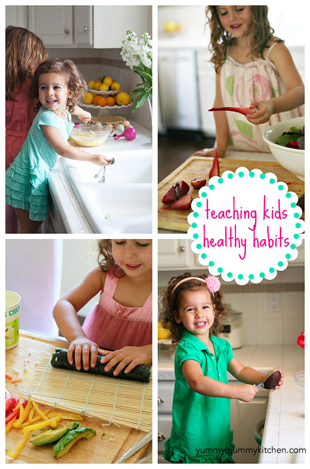 how to teach kids to eat healthy