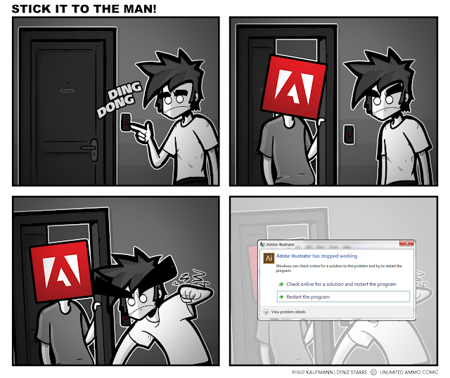 Fuck Adobe, horseshit.