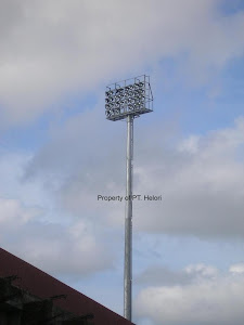 Monopole Pencahayaan Stadion