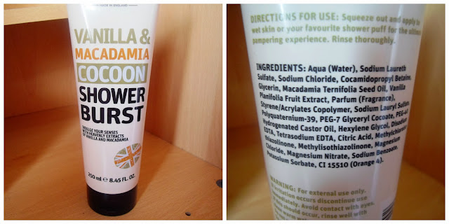 Creighton's Vanilla and Macadamia Cocoon Shower Gel