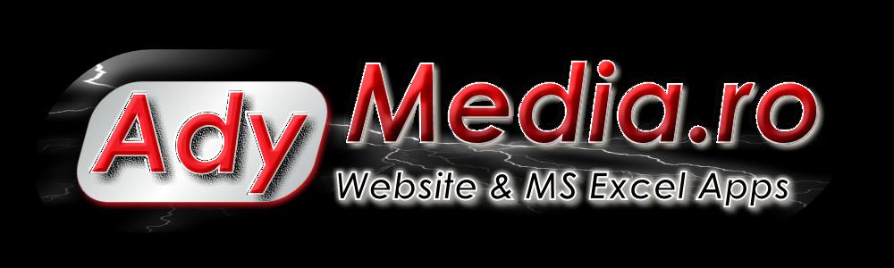 AdyMedia.ro - Creare site, magazin online, creare aplicatii Excel