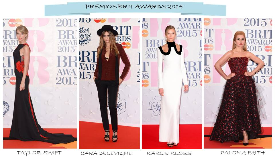 OnlyNess Premios Brit Awards 2015