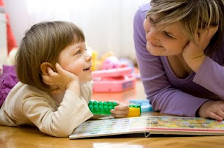 Photo of Positive parent child interaction