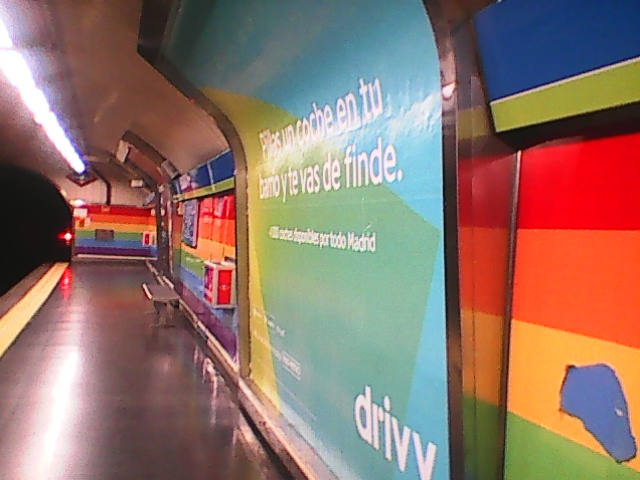 NOW  GAY PEOPLE IN MADRID HAS THEYS OWN METRO STAGE