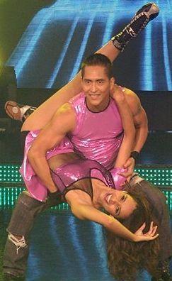 Foto de Maricielo Effio y Eli Vela en Reyes del Show