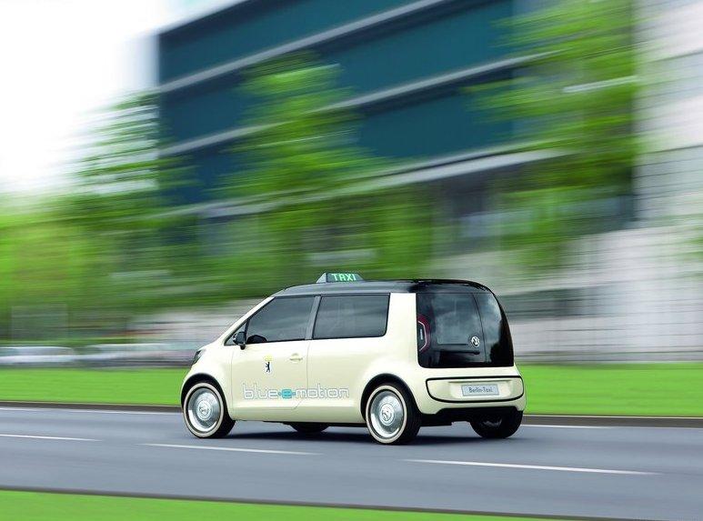 2010 Volkswagen Berlin Taxi Concept Car World