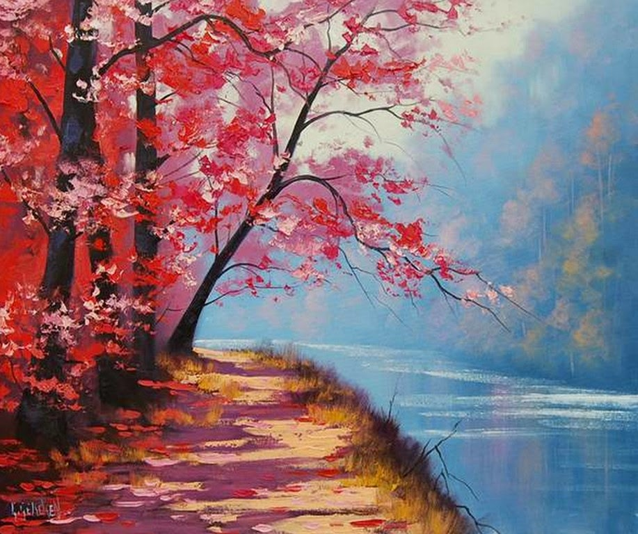 Im genes arte pinturas l minas de paisajes naturales para - Ver colores de pintura ...
