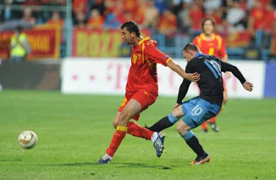 Montenegro 2 - 2 England (1)