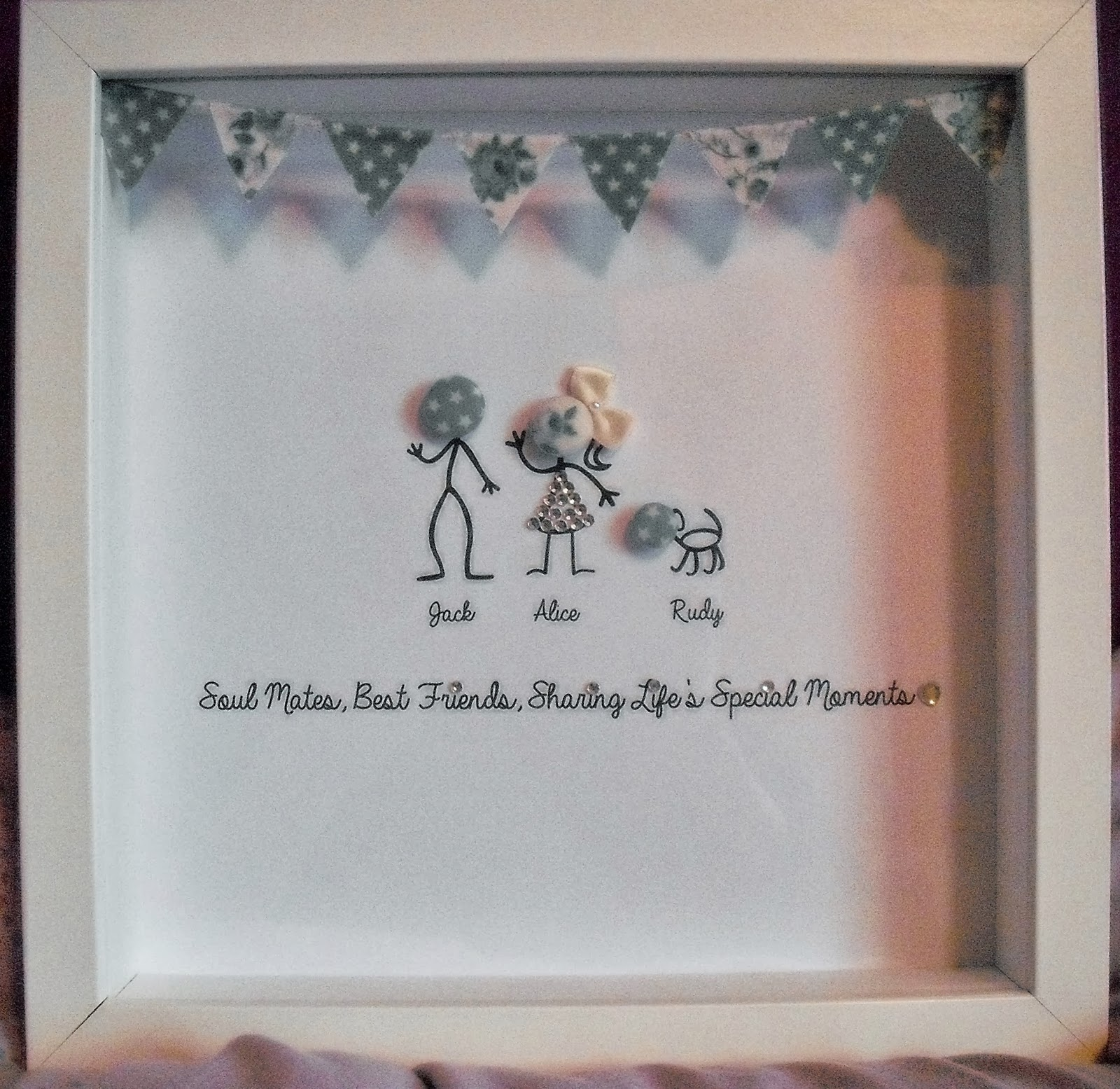 My Palace Of Alice On The Button Family Frame
