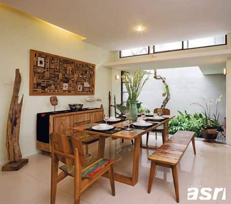 contoh desain ruang makan rumah minimalis nyaman