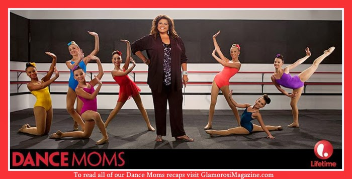 Abby Lee Miller and the cast of Lifetime TV's Dance Moms