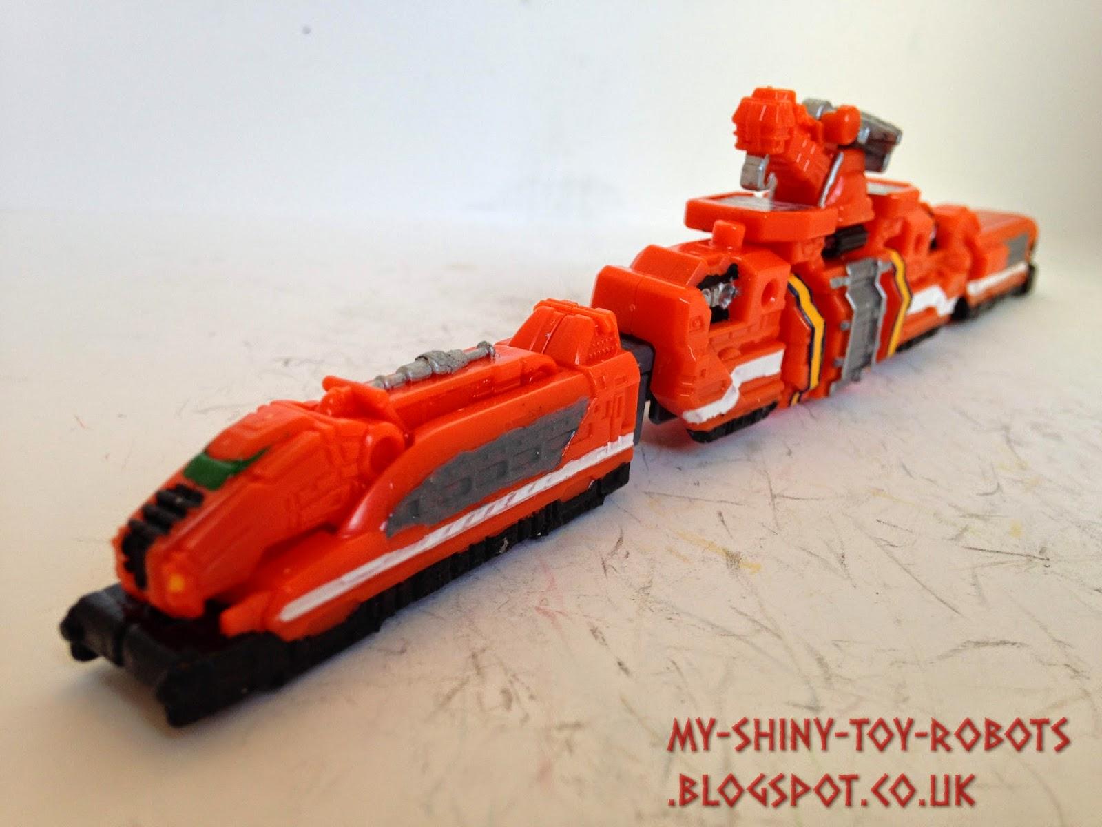 Track repair train front
