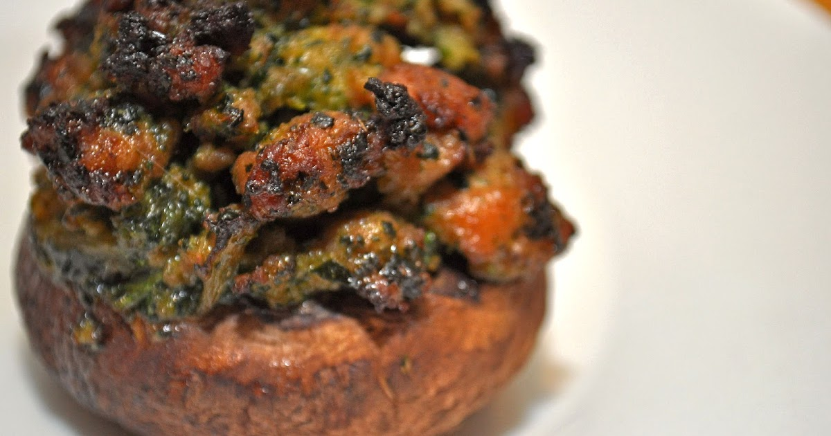 carina m. creations: Practical Paleo Stuffed Mushrooms