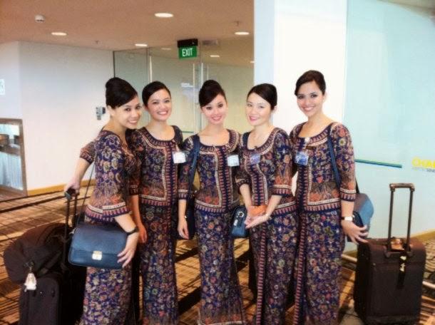 Pramugari Tercantik dan Terbaik singapore airlines