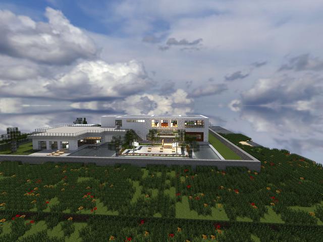 Modern House - Minecraft Metropolis