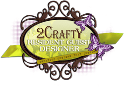 So honoured to have been a 2Crafty Resident Guest Designer - 2014/15
