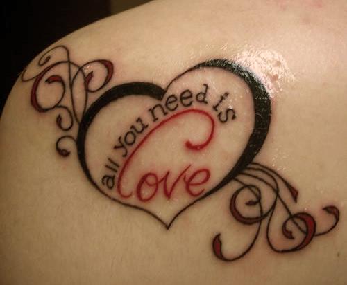 Traduction de « amour d'une mère » (pour un tatouage