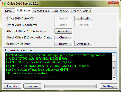 autokms exe office 2010