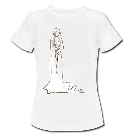 koszulka z panną młodą