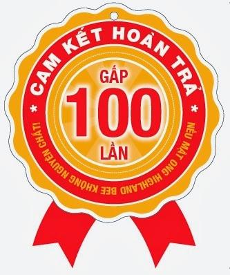 Highlandbee cam kết nguyên chất 100%
