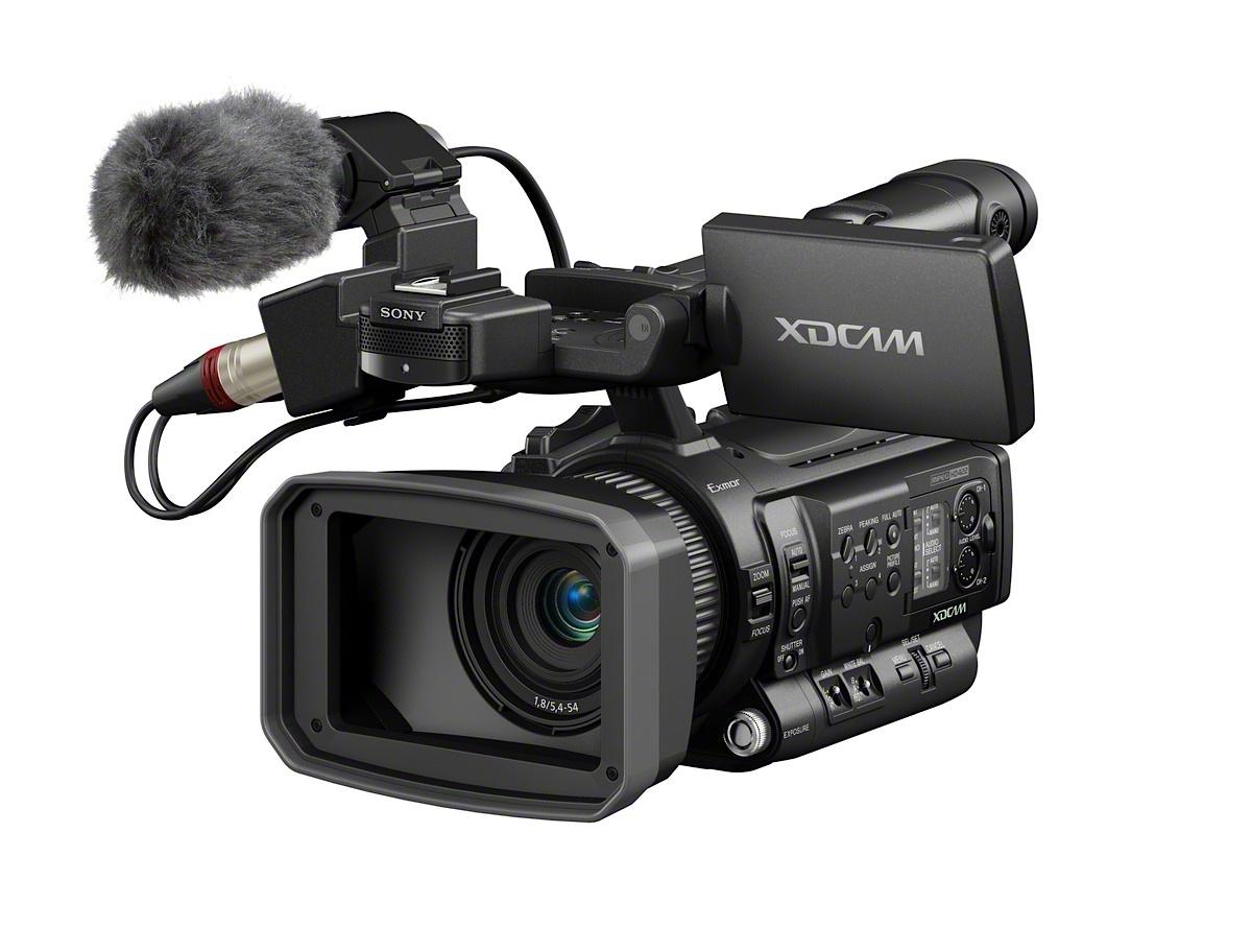 Urbanfox tv blog sony pmw 100 50mbps camcorder - Tv in camera ...