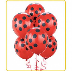 Notions from Nonny: Lady Bug Theme Party