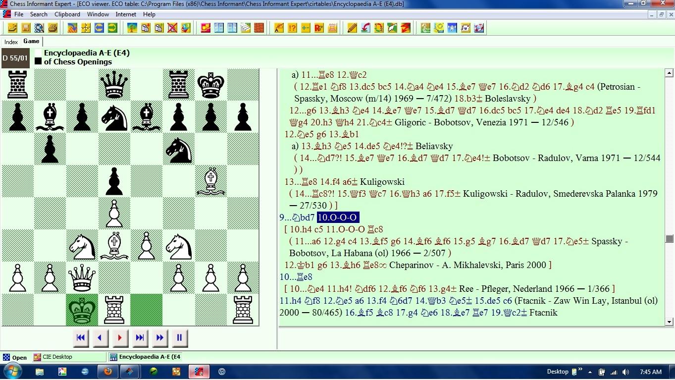 Chess Skills Castling Queenside In The Queens Gambit