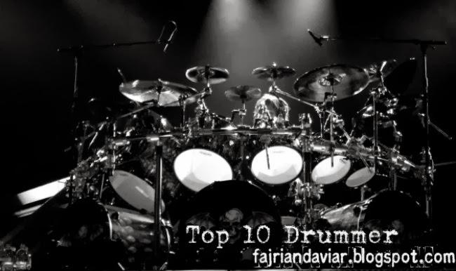 11 Drummer Terbaik di Dunia